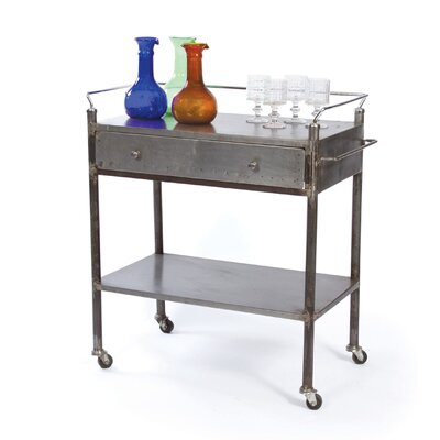 Payton Industrial Kitchen Cart