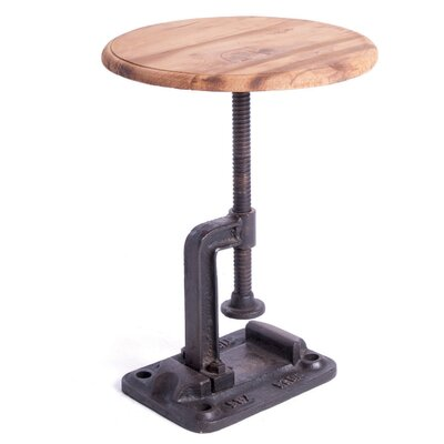 Espinoza Clamp Adjustable Height Bar Stool