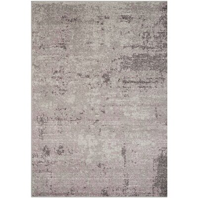 Costa Mesa Light Gray/Purple Area Rug Rug Size: 8 x 10
