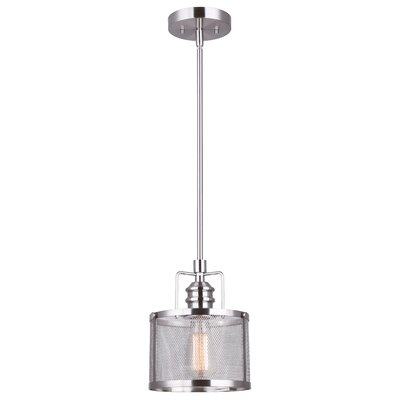 Suismon 1-Light Drum Pendant