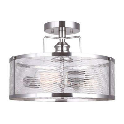 Petersen 3-Light Semi Flush Mount