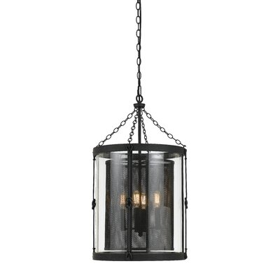 Tessio 4-Light Shaded Chandelier