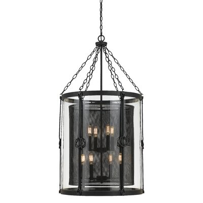 Tessio 8-Light Shaded Chandelier