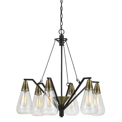 Wilcox 6-Light Shaded Chandelier