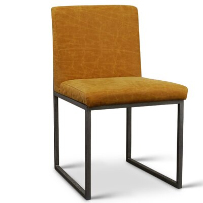 Sofia Side Chair Upholstery: Polyester - Cognac