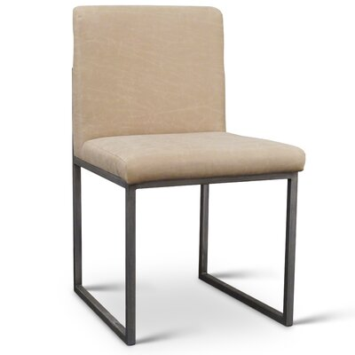 Sofia Side Chair Upholstery: Polyester - Light Beige