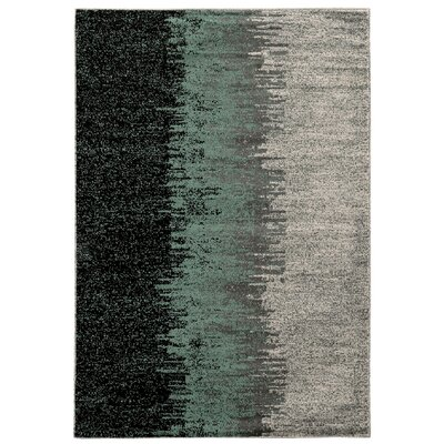 Arris Blue/Grey Area Rug Rug Size: Rectangle 5 x 7