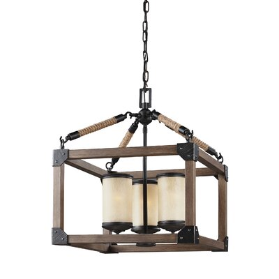 Isidoro 3-Light Mini Chandelier
