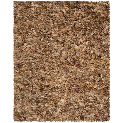 Carrol Hand-Tufted Brown Area Rug Rug Size: Rectangle 8 x 10
