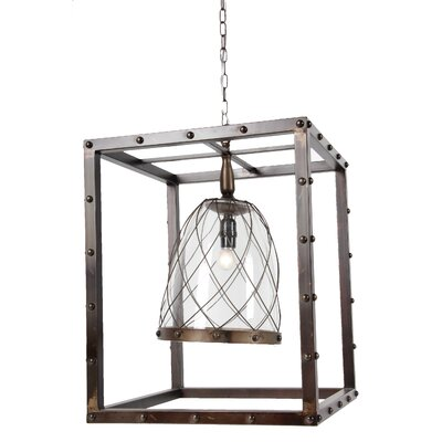 Pressley 1-Light Inverted Pendant