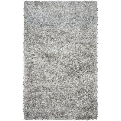 Villegas Hand-Tufted Gray Area Rug Rug Size: Rectangle 36 x 56