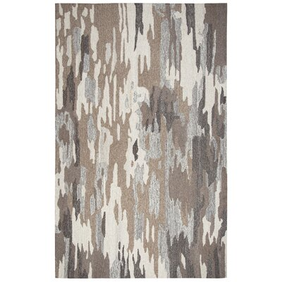 Grunin Hand-Tufted Brown Area Rug Rug Size: 8 x 10
