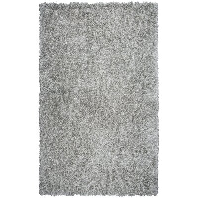Villegas Hand-Tufted Light Gray Area Rug Rug Size: Round 3
