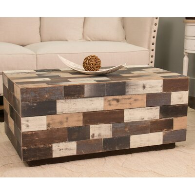 York Rectangle Wood Coffee Table