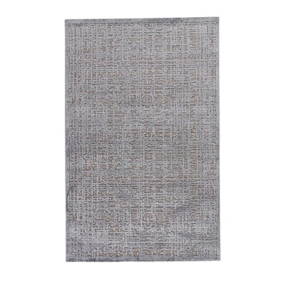 Sweetwater Gray Area Rug Rug Size: 76 x 96