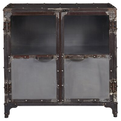 Lyndsay Distressed Riveted Chest