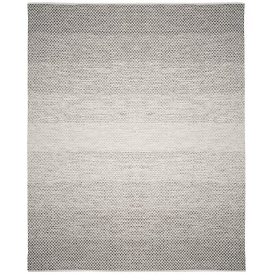 Central City Hand Woven Gray Area Rug Rug Size: 8 x 10