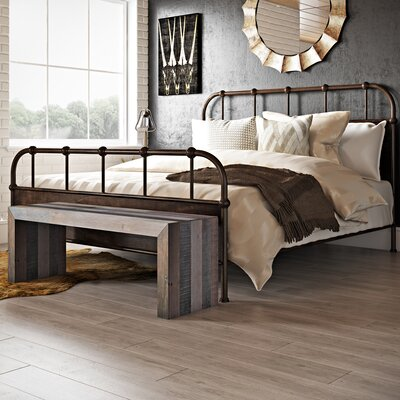 Claremore Panel Bed Size: King