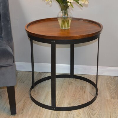 Avsallar End Table Finish: Chestnut