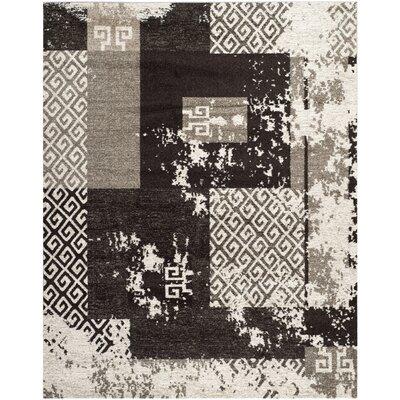 Dowson Creme/Brown Rug Rug Size: 4 x 6