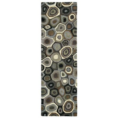 Bressyln Hand-Tufted Gray Area Rug Rug Size: 9 x 13