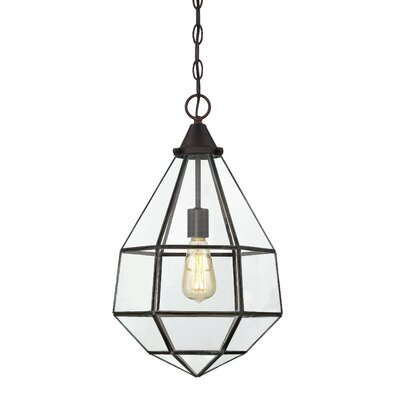 Zander 1-Light Foyer Pendant