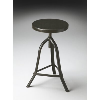 Sage Metalworks Adjustable Height Bar Stool