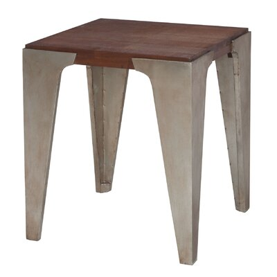 Bingham New Signature Stain and Antique Tin End Table