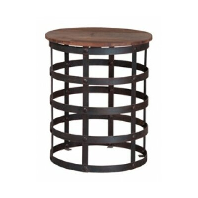 Josephine Reclaimed End Table