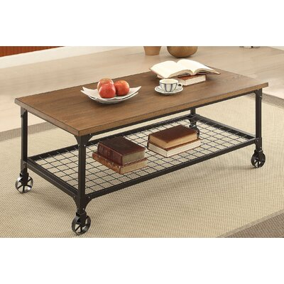 Lucy Coffee Table with Magazine Rack