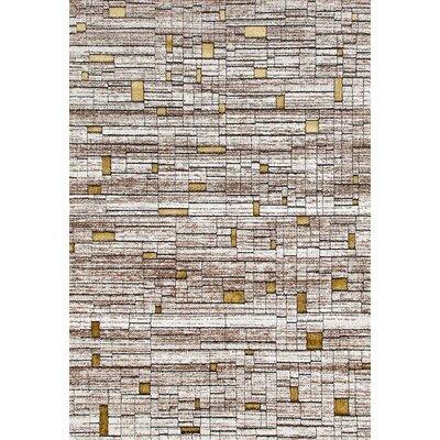 Kirsten Beige/Cream Indoor/Oudoor Area Rug Rug Size: 5 x 7