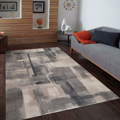 Kirsten Gray Indoor/Outdoor Area Rug Rug Size: 4 x 5