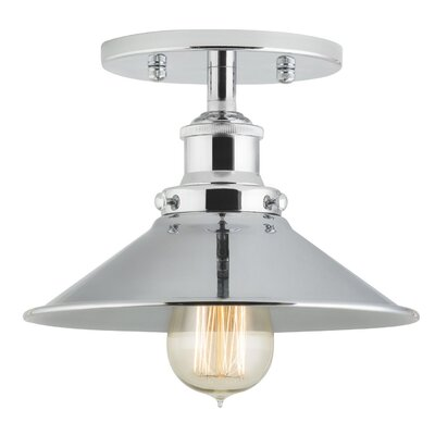 Montreal 1-Light Semi-Flush Mount Finish: Polished Chrome