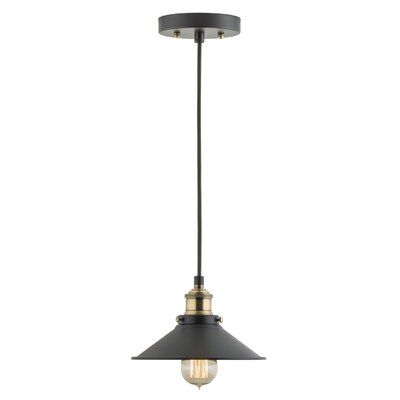 Montreal 1-Light Mini Pendant Finish: Antique Brass