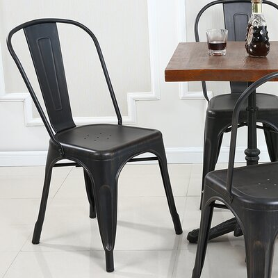 Vauxhall Side Chair Finish: Antique Black