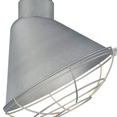 Kaden 12 Metal Empire Wall Sconce Shade Finish: Galvanized