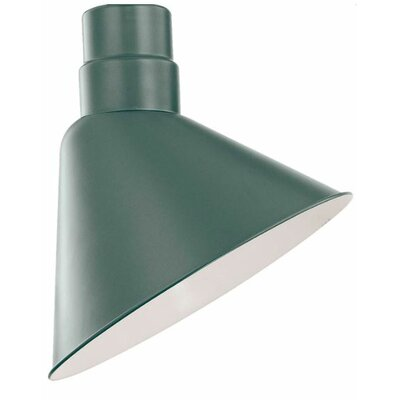 Fitzhugh 12 Metal Empire Wall Sconce Shade Finish: Satin Green
