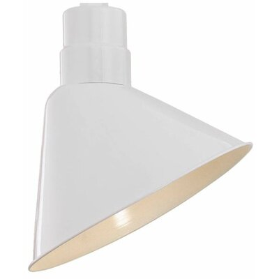 Fitzhugh 12 Metal Empire Wall Sconce Shade Finish: White