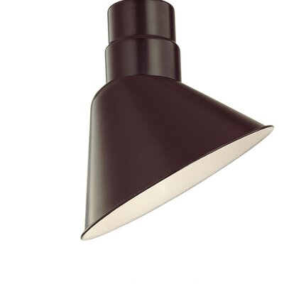 Fitzhugh 10 Metal Empire Wall Sconce Shade Finish: Architectural Bronze