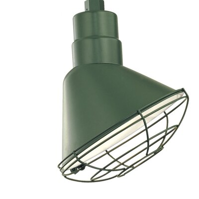 Fitzhugh 10 Metal Empire Wall Sconce Shade Finish: Satin Green