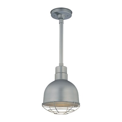 Kaden 1-Light Kitchen Pendant Finish: Galvanized