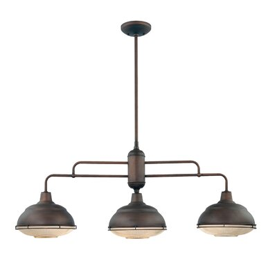 Bruges 3-Light Kitchen Pendant Finish: Rubbed Bronze