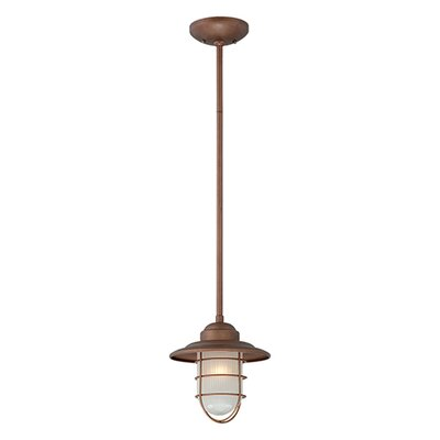 Bruges 1-Light Mini Pendant Finish: Copper