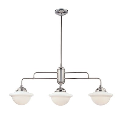 Bruges 3-Light Kitchen Pendant Finish: Chrome