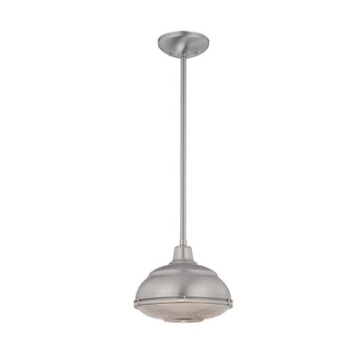 Bruges 1-Light Mini Pendant Finish: Satin Nickel