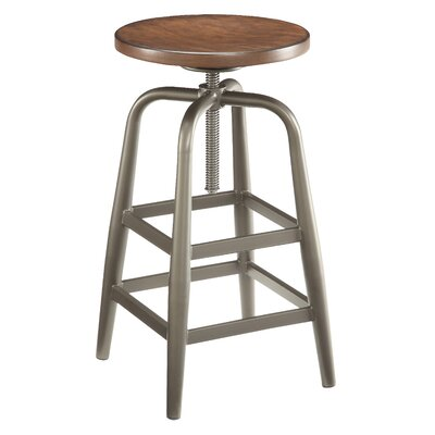 Berger Industrial Adjustable Height Swivel Bar Stool