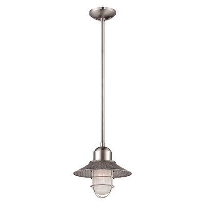 Bruges 1-Light Mini Pendant Finish: Brushed Nickel