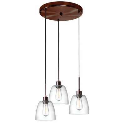 Arinze 3-Light Cascade Pendant
