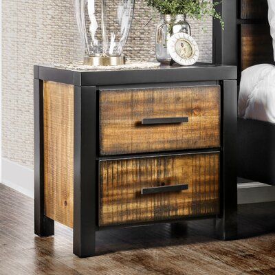 Topher 2 Drawer Nightstand