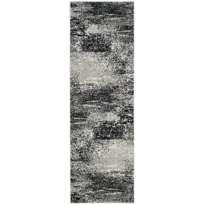 Costa Mesa Silver Area Rug Rug Size: Runner 26 x 8